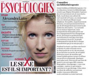 Le magazine Psychologies parle de bibliothérapie