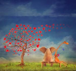 Bibliothérapie intuitive étude écrite chemin de vie sentimentale